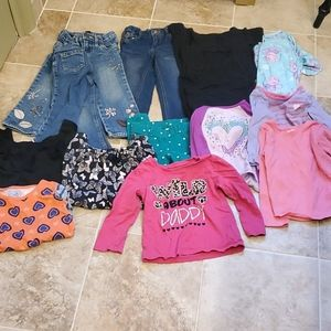 Lot of girl's clothing